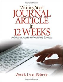 Writing Your Journal Article Cover
